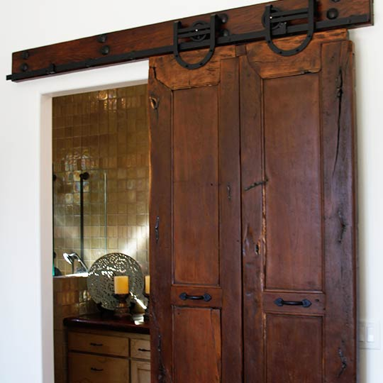 Antique Mexican Doors with Custom Installation