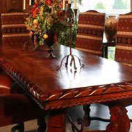 Hand Carved Formal Dining Tables