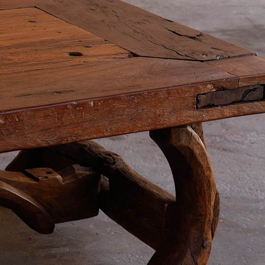 Antique Mexican Door Tables